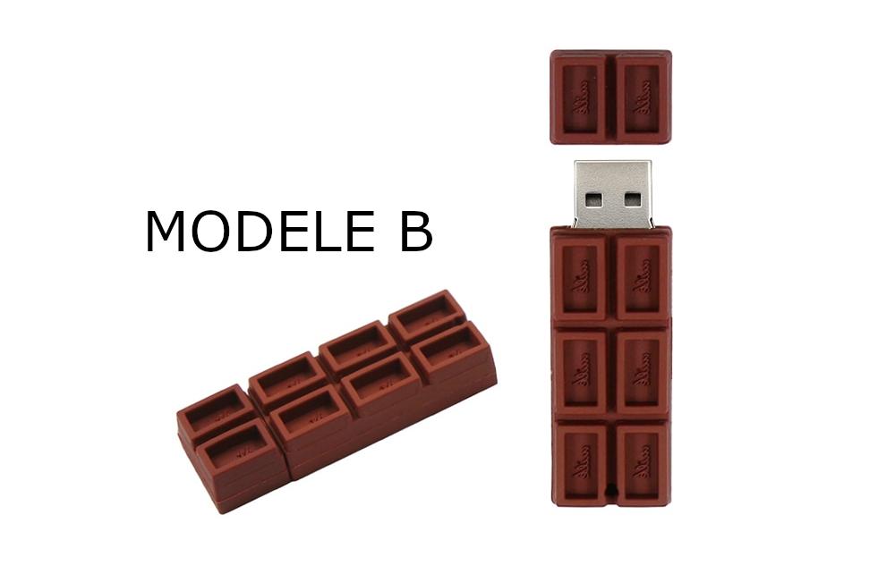 clé usb tablette de chocolat
