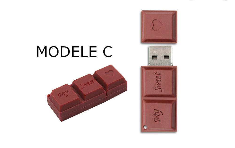 clé usb chocolat amoureux amoureuse